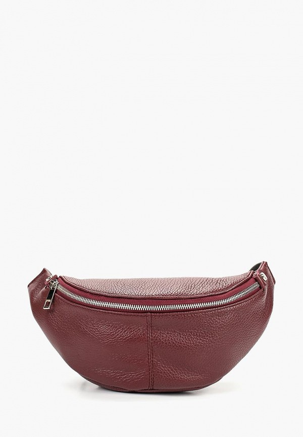 мужская сумка dimanche, бордовая