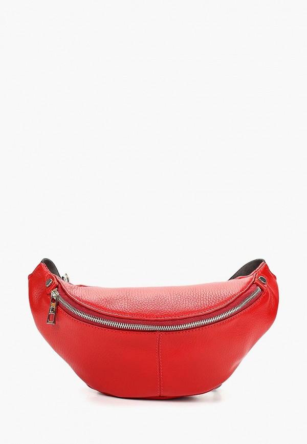 мужская сумка dimanche, красная