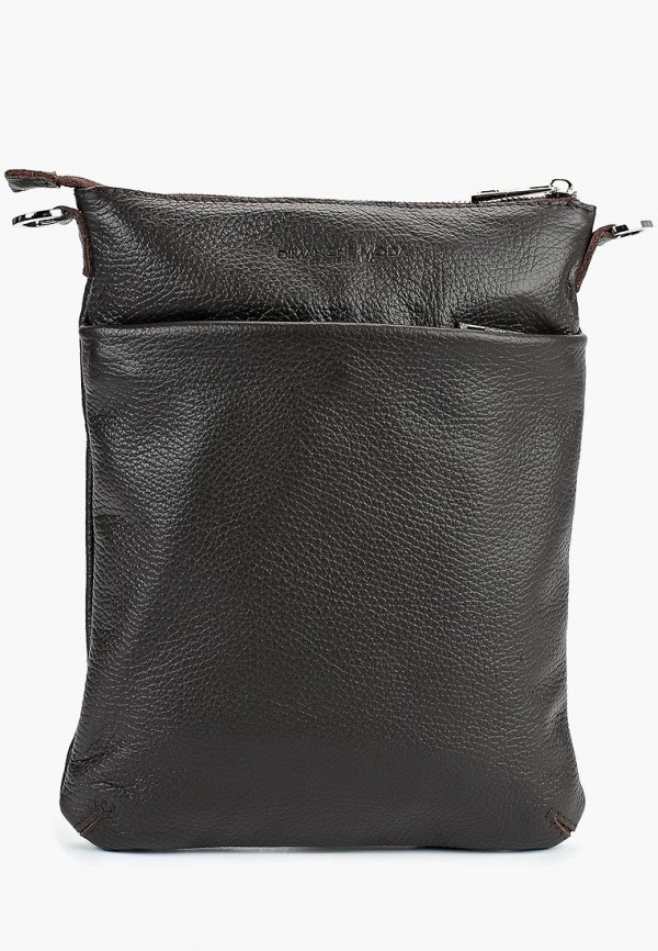 мужская сумка dimanche, коричневая