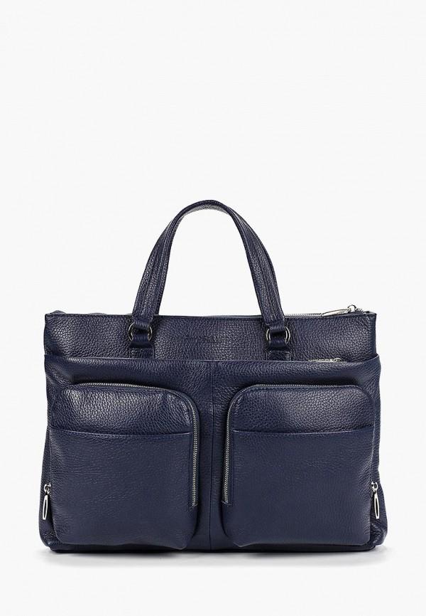 мужская сумка dimanche, синяя