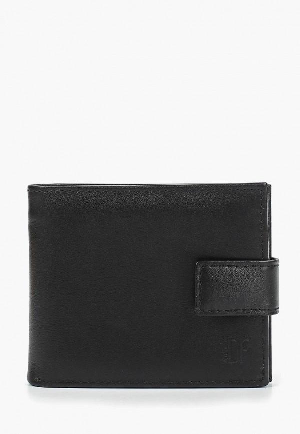 мужской кошелёк dimanche, черный