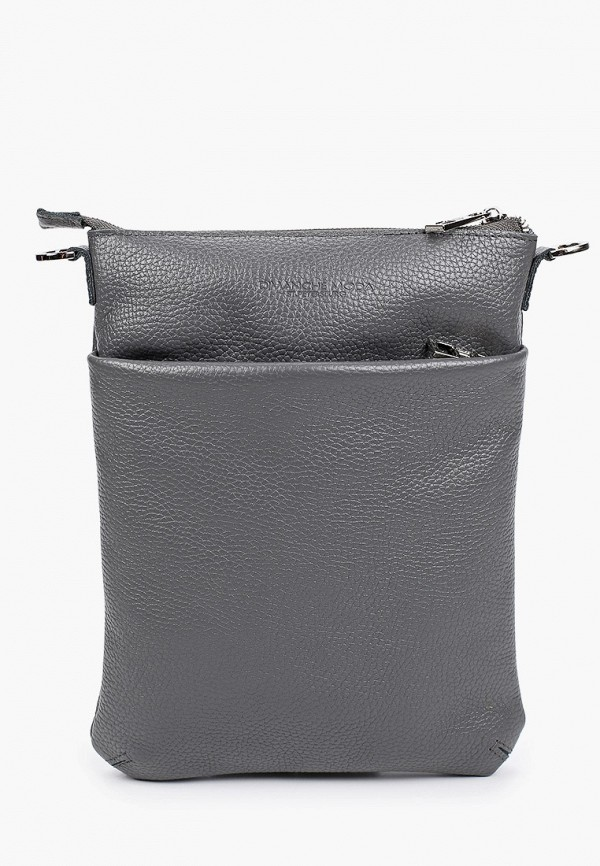 мужская сумка dimanche, серая