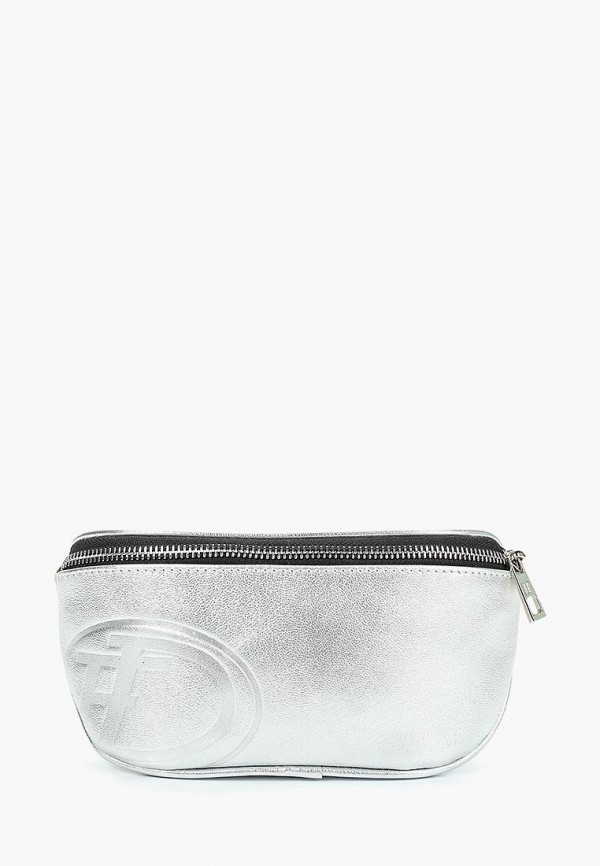 женская сумка dimanche, серебряная
