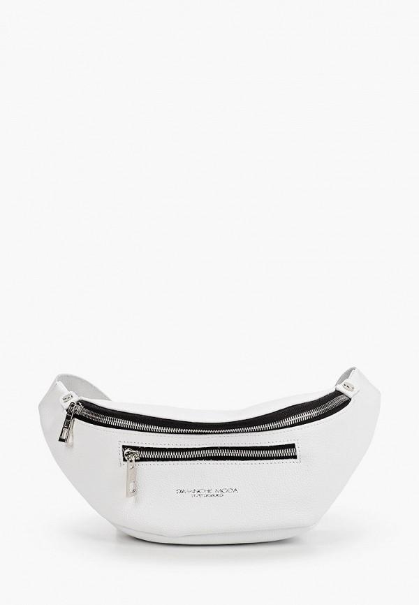 женская сумка dimanche, белая