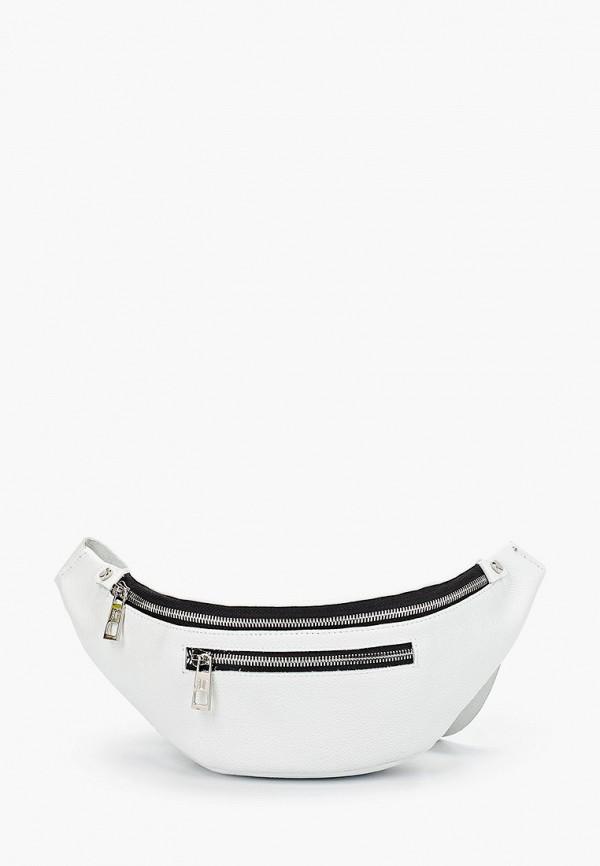 женская поясные сумка dimanche, белая