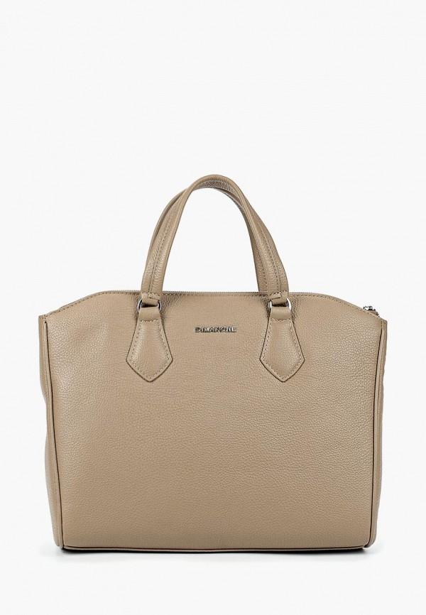 женская сумка dimanche, бежевая