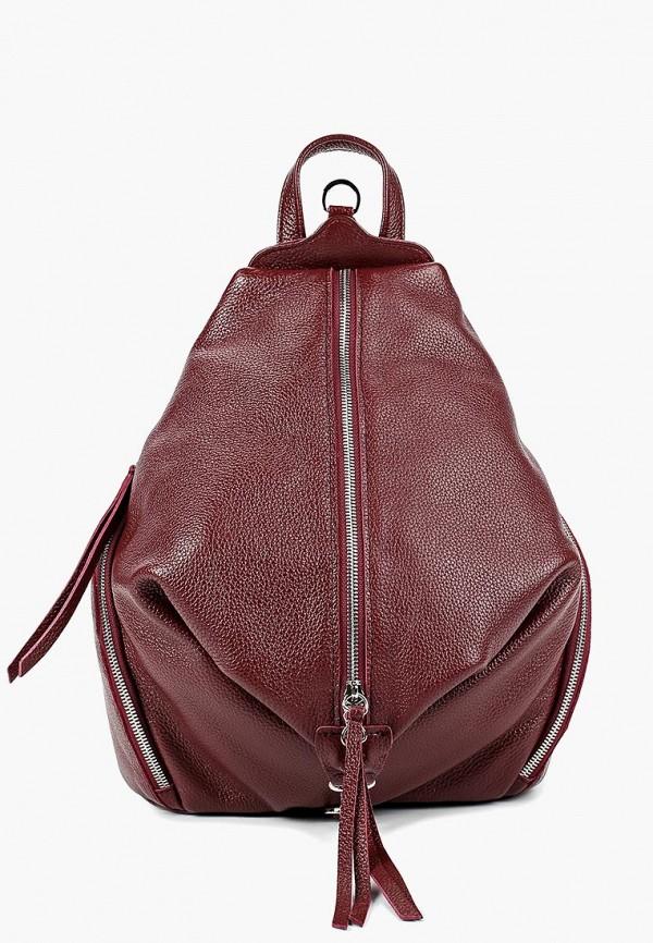 женский рюкзак dimanche, бордовый