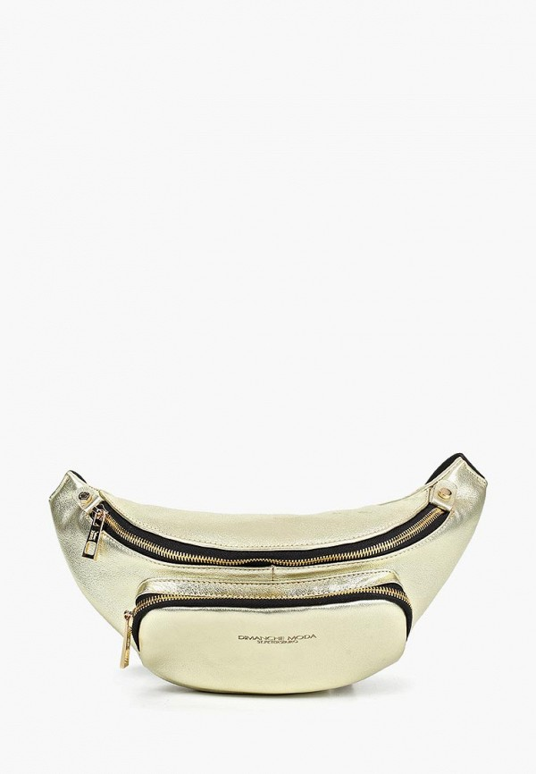 женская поясные сумка dimanche, золотая