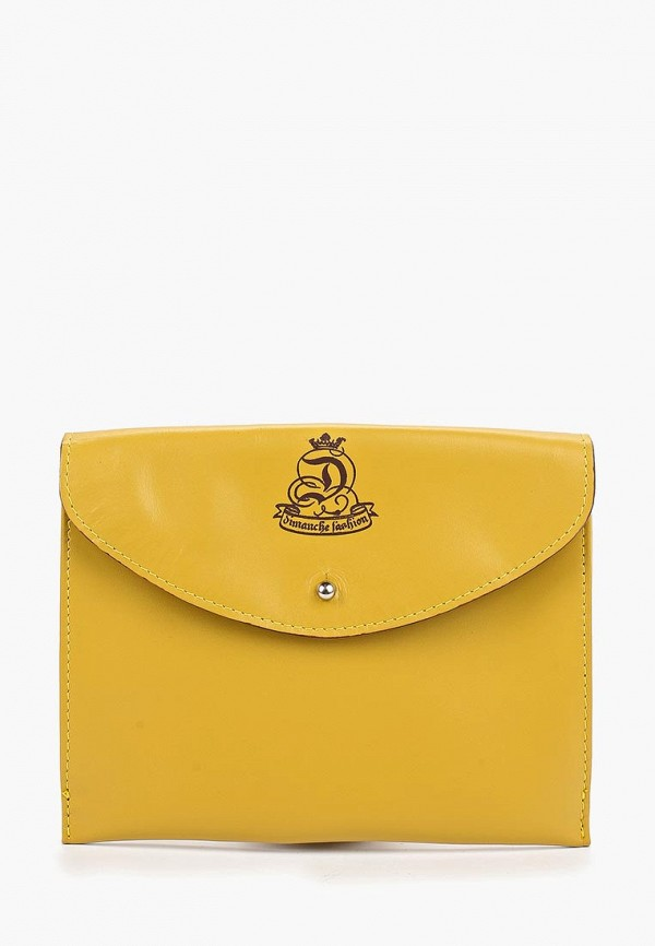 женская сумка dimanche, желтая