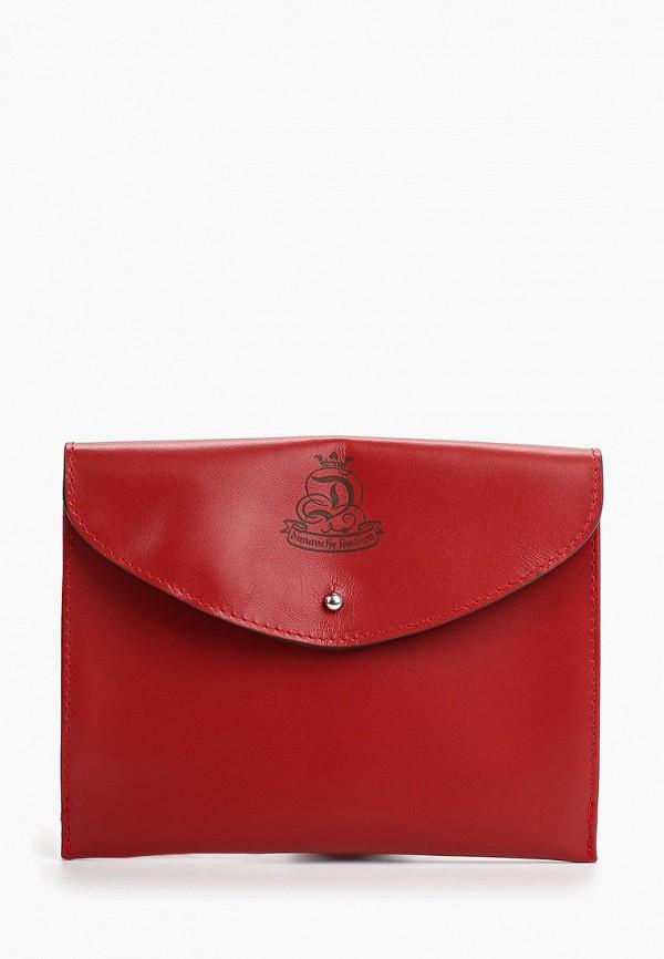 женская сумка dimanche, красная