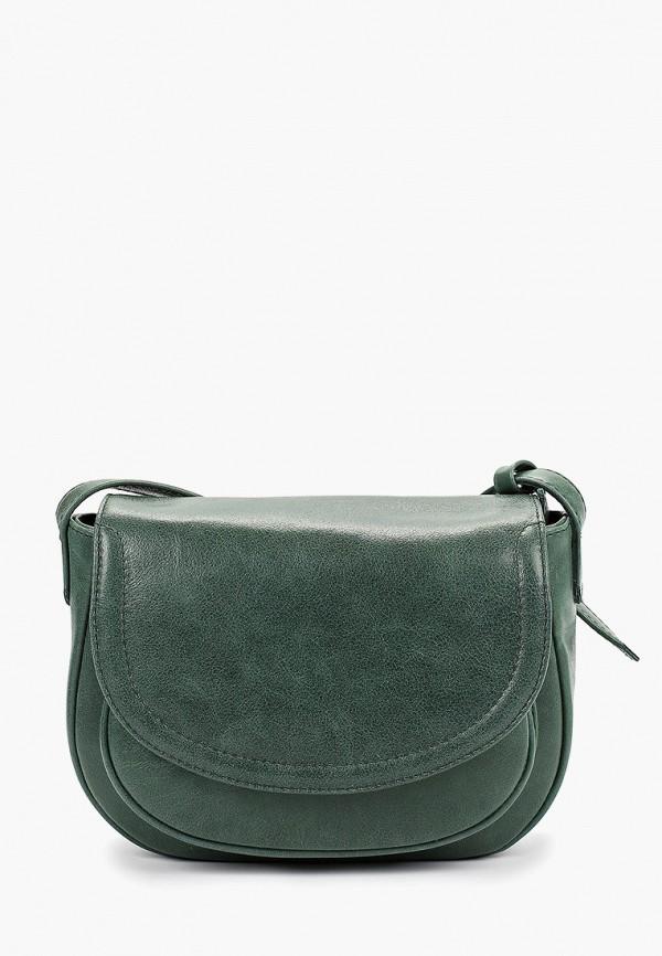 женская сумка dimanche, зеленая