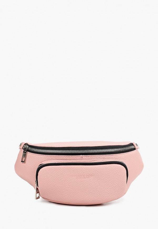 женская поясные сумка dimanche, розовая