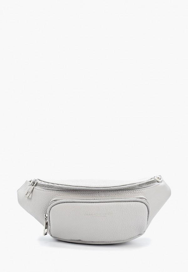 женская сумка dimanche, серая