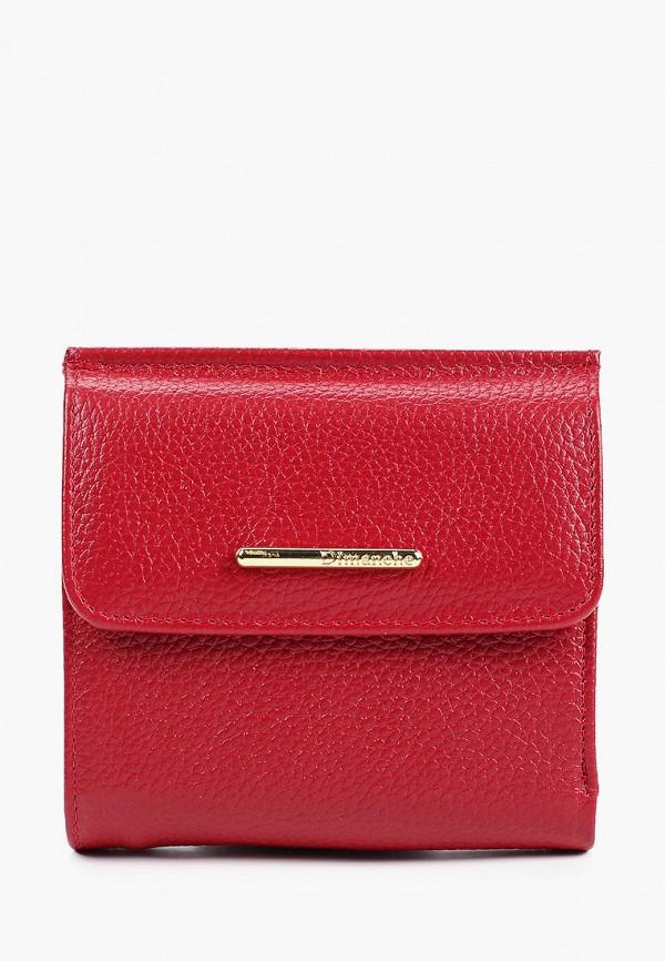 женский кошелёк dimanche, бордовый