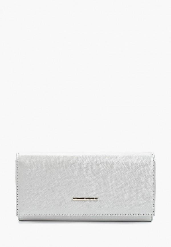 женский кошелёк dimanche, серебряный