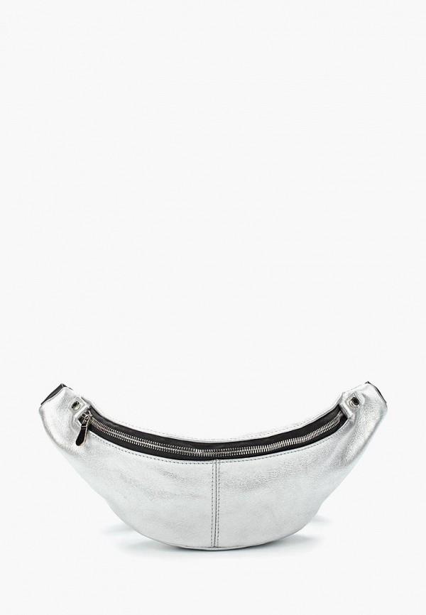мужская сумка dimanche, серебряная