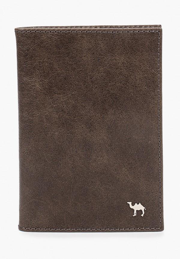 Обложка для документов Dimanche коричневого цвета