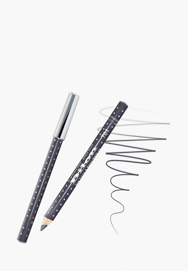 карандаш для глаз dilon, серый