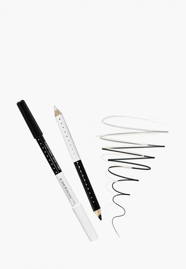 карандаш для глаз dilon, разноцветный