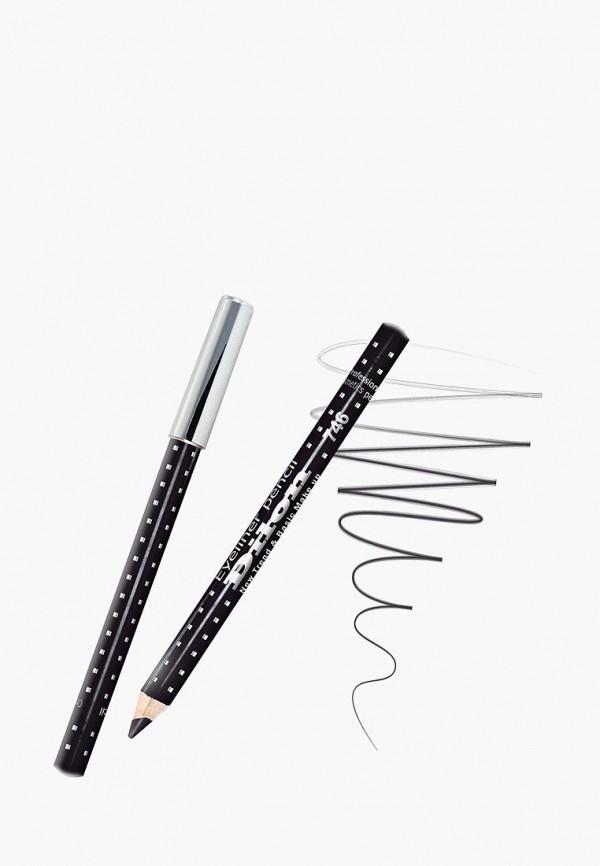 женский карандаш для глаз dilon, черный