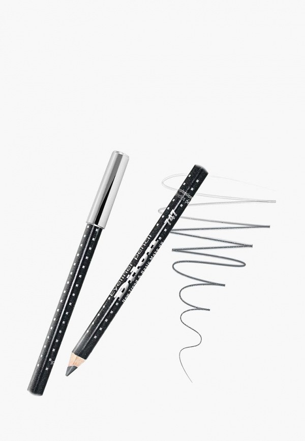 женский карандаш для глаз dilon, серый