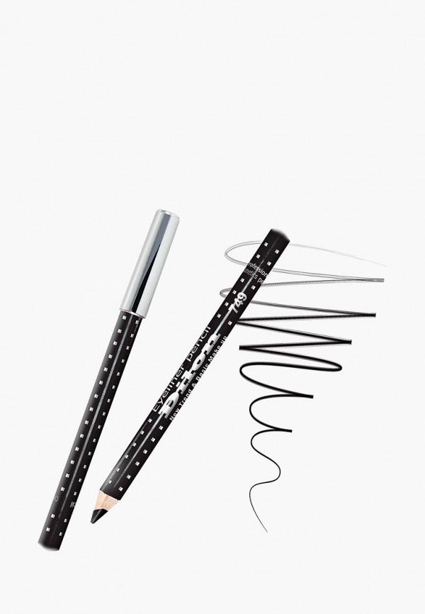 карандаш для глаз dilon, черный