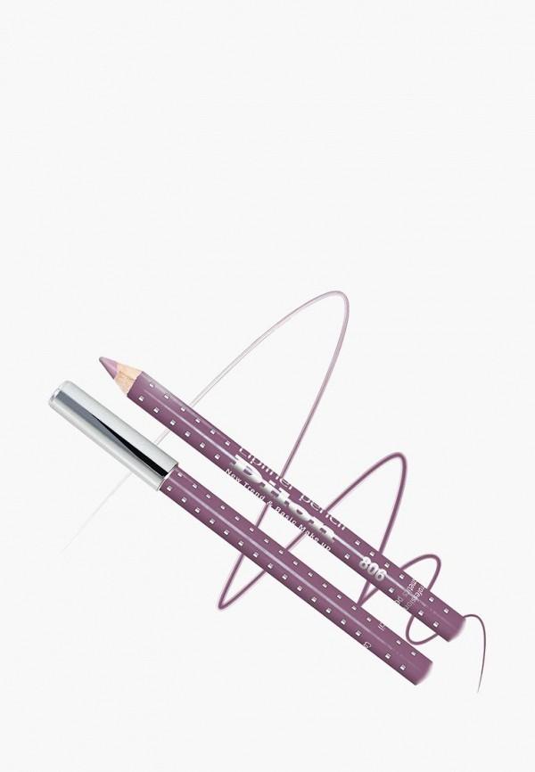 карандаш для губ dilon, фиолетовый