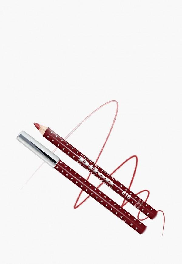 женский карандаш для губ dilon, красный
