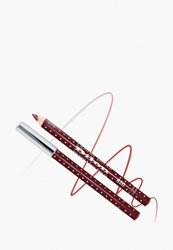 Купить Карандаш для губ Dilon, тон 820 БОРДОВЫЙ, DI043LWBZHD9, бордовый, Весна-лето 2018