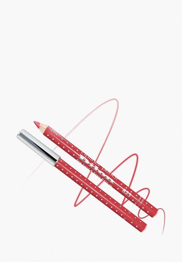 Карандаш для губ Dilon, тон 823 КРАСНЫЙ, DI043LWBZHE2, красный, Весна-лето 2018  - купить со скидкой