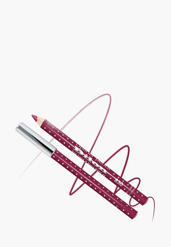 женский карандаш для губ dilon, бордовый