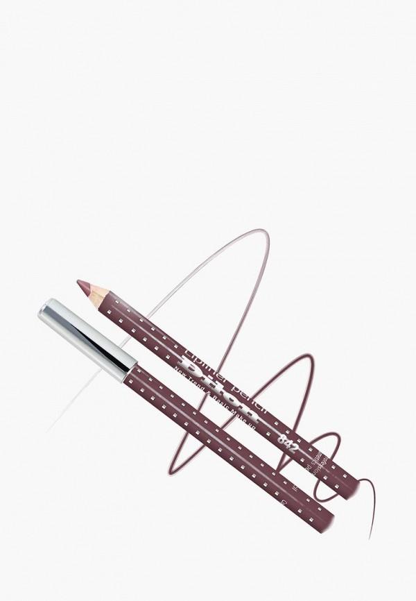 карандаш для губ dilon, бордовый