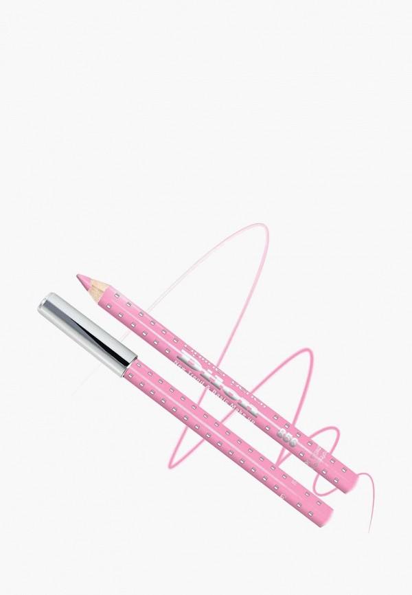 карандаш для губ dilon, розовый