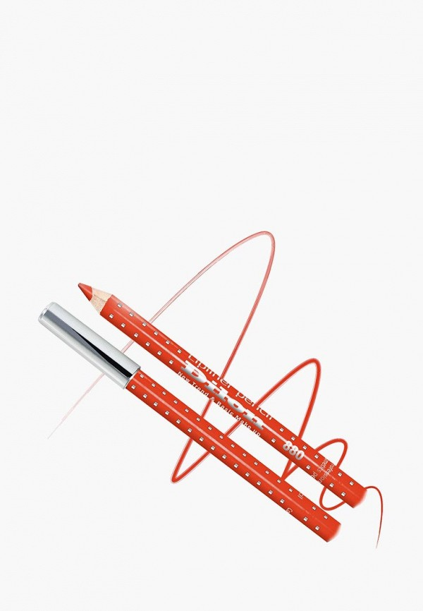 карандаш для губ dilon, оранжевый