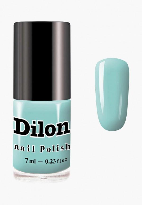 лак для ногтей dilon, бирюзовый