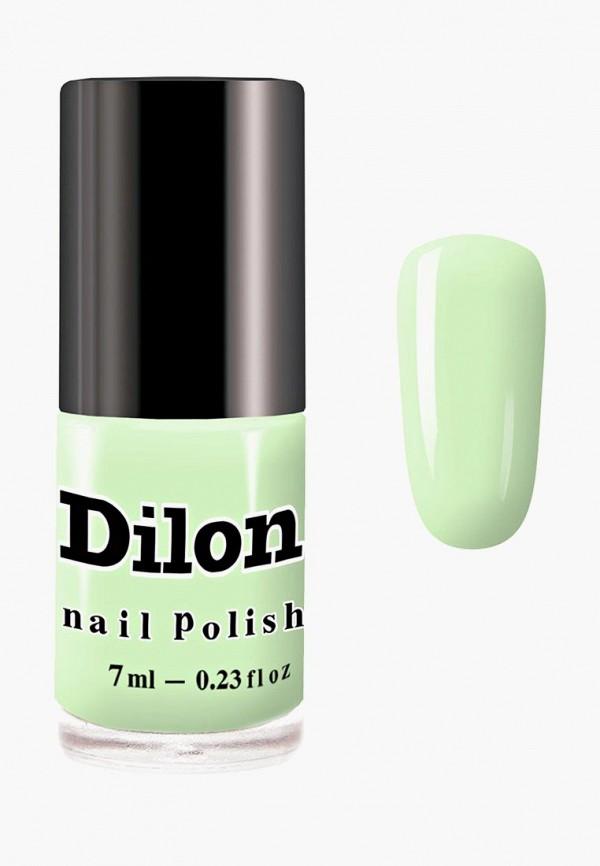 лак для ногтей dilon, зеленый