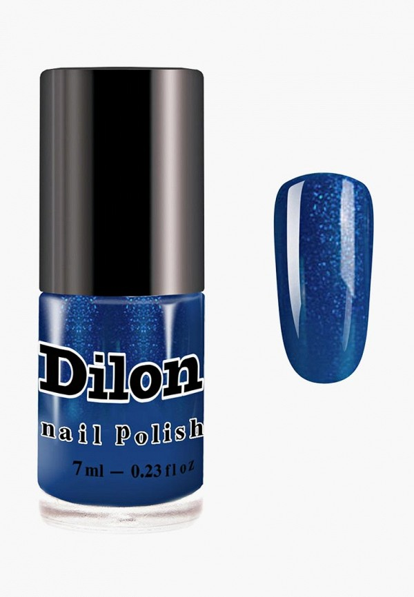 лак для ногтей dilon, синий
