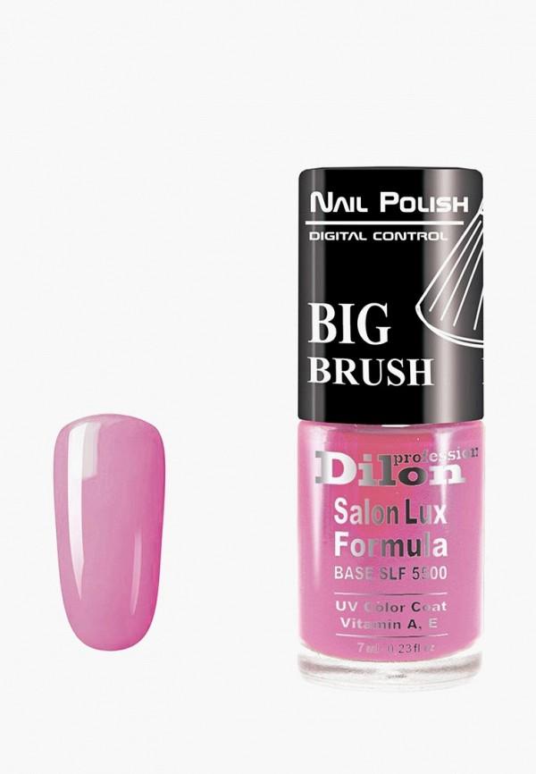 лак для ногтей dilon, розовый