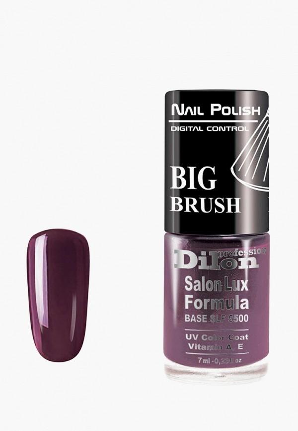 лак для ногтей dilon, фиолетовый