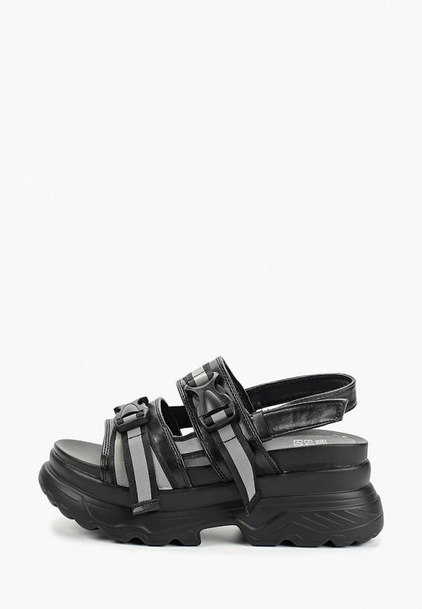 женские сандалии dino albat, черные