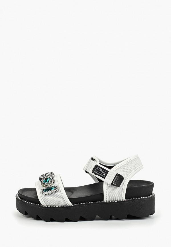 женские сандалии dino albat, белые