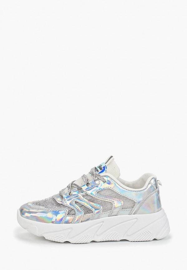 женские кроссовки dino albat, серебряные