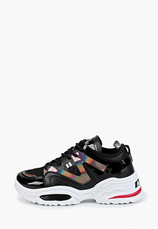 женские кроссовки dino albat, черные