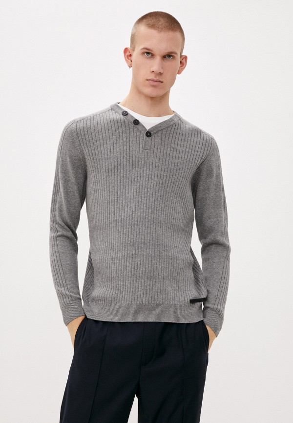 мужской пуловер dissident, серый