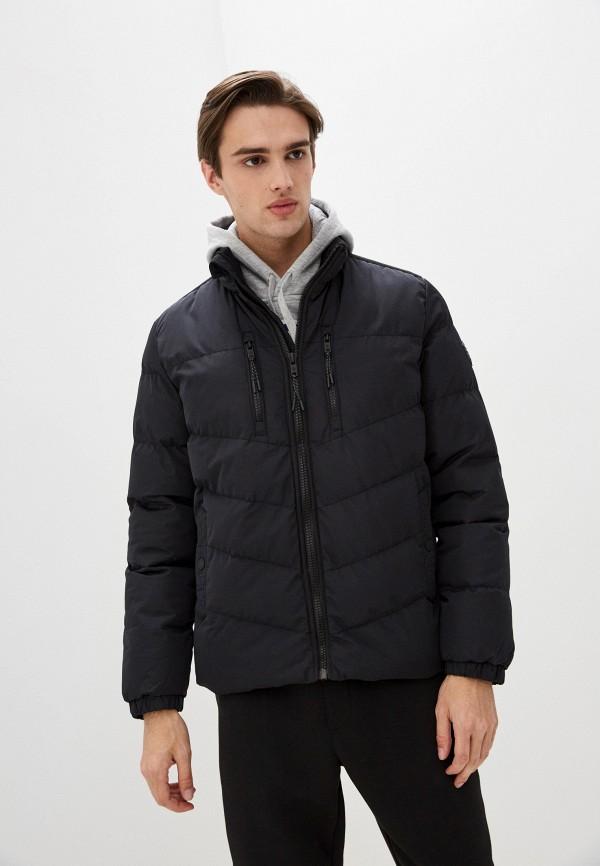 мужская куртка dissident, черная