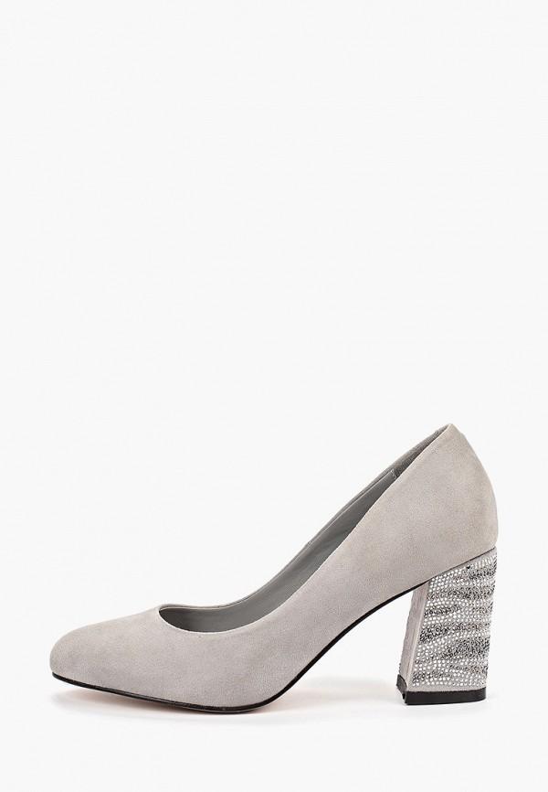 Фото - женские туфли Diora.rim серого цвета