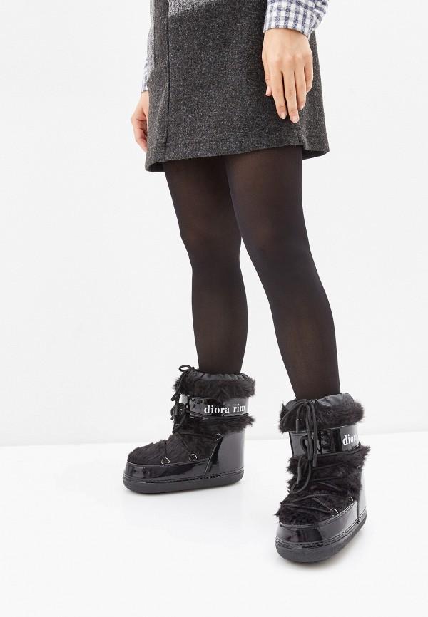 Фото 6 - Луноходы Diora.rim черного цвета