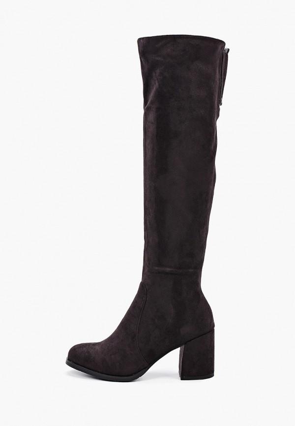 женские ботфорты diora.rim, коричневые