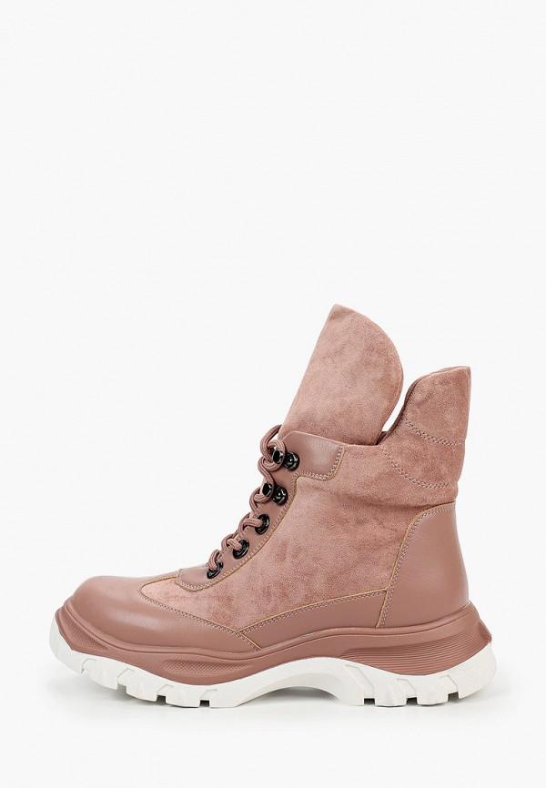 женские ботинки diora.rim, розовые