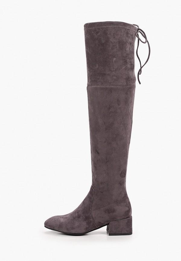 женские ботфорты diora.rim, серые